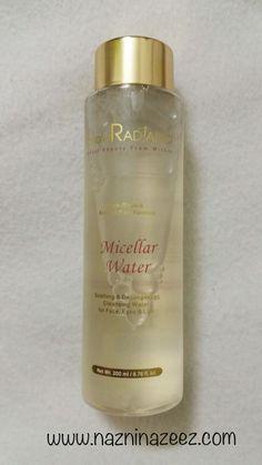 GlowRadiance Micellar Water review.. #Skincare