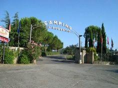 Camping Village il Poggetto di Rignano sull'Arno (FI) #giropercampeggi #campeggi #camper #tenda
