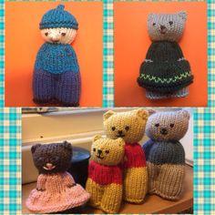 Knitting For Kids, Loom Knitting, Knitting Toys, Loom Patterns, Knitting Patterns, Peacock Crochet, Bra Storage, Diy Nightstand, Knitted Dolls