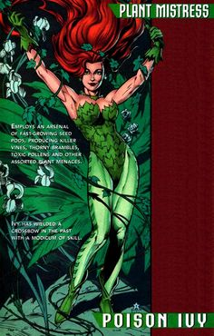 classic poison ivy comic - Google Search