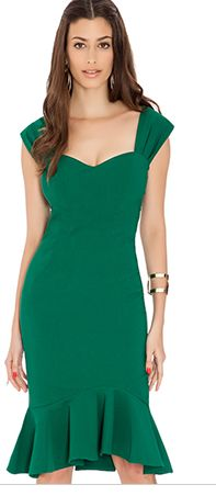 Yes yes yes and yes!!! (As long as the neckline doesn't dip too low on me.) Hunter Green Career Dress