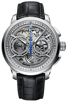 Mens Maurice Lacroix Masterpiece Chronograph Skeleton MP6028-SS001-001 ** Read more at the image link.