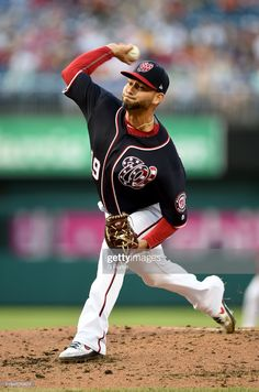 Anibal Sanchez of the Washington Nationals pitches against the Los Angeles Dodgers at Nationals Park on July 2019 in Washington, DC. Get premium, high resolution news photos at Getty Images Washington Nationals Baseball, Golf Stores, Los Angeles Dodgers, Sports Fan Shop, Pitch, Mlb, Shopping, News, Dodgers Baseball
