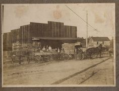 Picture of my Great-Grandfather's Produce company in Watertown, Tennessee.  1908