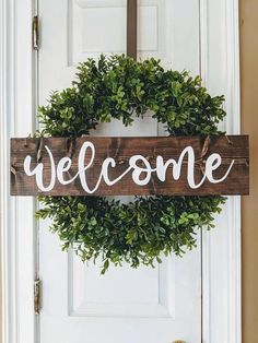 This listing is for the wooden sign ONLY. Wreath is for display purposes only. The wreath can be purchased as well for an additional cost. This sign measures 3X15. Sign is made with twine to hang but can also be made free standing as well. Make sure to put in the notes if you do