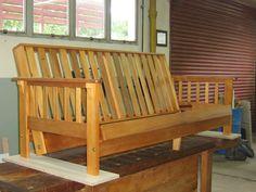 1000 images about futon on pinterest futons wood futon - Como hacer un sofa paso a paso ...