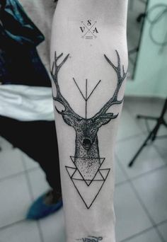 45 Inspiring Deer Tattoo Designs | Cuded