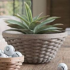 Longaberger WOVEN™ COLLECTION Big Daddy Bowl Basket in 3 Colors
