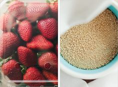 ROASTED STRAWBERRY COCONUT MILK ICECREAM - SPROUTED KITCHEN - A Tastier Take on Whole Foods