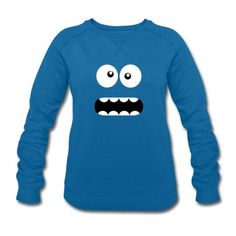 Sweat-shirt Femme Drôle Cartoon Monster Face - Crazy / Smiley #cloth #cute #kids# #funny #hipster #nerd #geek #awesome #gift #shop We will review it and take appropriate action. Thanks for helping to maintain extreme awesomeness on Wanelo.