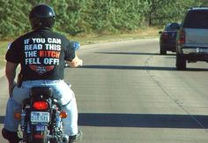 T-shirt for bikers