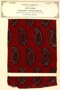 Indian textiles & Empire: Victoria and Albert Museum