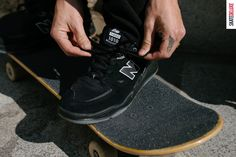 Trust Tiago: Get the new New Balance Numeric 1010 from Tiago Lemos Skate Shoe Brands, Skate Shoes, New Skate, Shoe Releases, Nike Sb, New Balance, Black Shoes, Skateboard, Trust