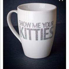Show me your kitties glitter mugs Please know when you purchase, I go as fast as I can to craft and ship each mug out for the holidays! Get your mug for Christmas morning to celebrate the holidays! please note!!: all mug that look the way they do in pic will look as CLOSE AS POSSIBLE to the mug you receive in the mail! I do have to buy the mug then craft it!:) I put a lot of love and dedication into each and every one of them^.^ Other