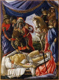 Sandro_Botticelli_018.jpg (1503×2030) Historias de Judit es un díptico del pintor renacentista italiano Sandro Botticelli.