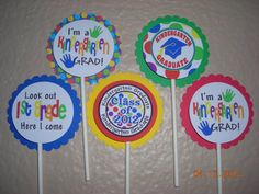 These would be so cute ... we just need to change it to Pre-K instead of kindergarten.