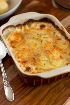 Creamy Potato Lasagna Dinner Recipe.