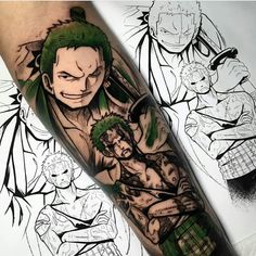 If you are a fan of one of the most popular manga series of all time, then you are in the right place. In today's article, we are bringing you One Piece Tattoo Ideas You Will Love! Keep on reading to find out more about these awesome tattoo designs! David Tattoo, Ace Tattoo, Gold Tattoo, Tattoo You, One Piece Tattoos, Pieces Tattoo, Cool Tattoos, Anime Tatoo, Manga Tattoo
