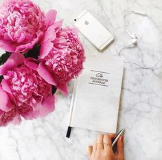 Mimi Ikonn The Five Minute Journal Marble Apple Flowers Peonies London Youtube