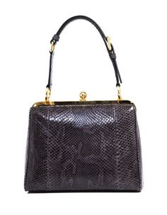 Dolce & Gabbana Python Structured Bag: Picture Perfect Frame