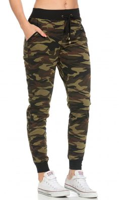 3c628be174e744 Hot Kiss ~ Camouflage Joggers I Am So Fancy