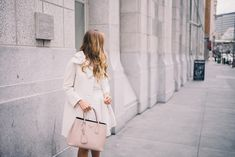 Love the cream bow jacket