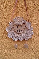 Dekorácie - ovečka - 1249639 Clay Crafts For Kids, Kids Clay, Farm Crafts, Diy And Crafts, Clay Art Projects, Ceramics Projects, Ceramic Painting, Ceramic Art, Navidad Diy