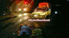 Blog Paulo Benjeri Notícias: Colisão de motocicleta com ambulância deixa uma pe...
