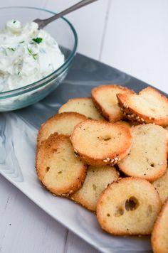 Bagel Chips from www.sprinkledsideup.com