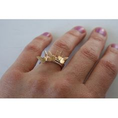 Flying Butterfly Stacking Ring Set on Sale 50% off. Free Shipping   9thelm.com