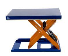 GTARDO.DE:  Flachform-Hubtisch, 500 kg, Maße 900 x 600 mm, Hub 630 mm, 0,75 kW 2 829,00 €