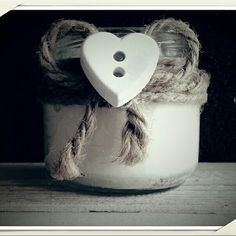 Candela con cera di soya...handmade