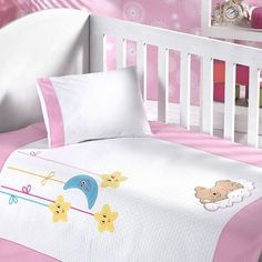 Sunny Funny Pink Baby Pike Team Under The Stars-Sunny Funny Yıldızların Altında Pembe Bebek Pike Takımı Sunny Funny Under the Stars Pink Baby Pike Team - Baby Sheets, Cot Sheets, Funny Babies, Cute Babies, Baby Bike, Quilt Baby, Baby Pillows, Baby Bedroom, Kids Corner