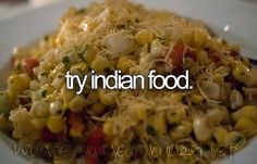 Try Indian food