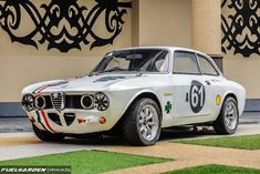 Alfa Romeo Giulia Sprint GT Veloce #alfa #alfaromeo #italiandesign #alfaromeogta