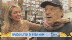Check us out over Telemundo: La navidad ya se celebra y Verónica Albornoz salió de parranda con la gente de Nueva York.