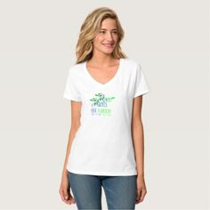 #white - #POWER by PLANTS. BECOME VEGAN. WHITE T-SHIRT. T-Shirt