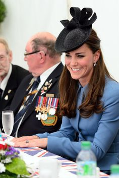 Kate Middleton in Normandy.
