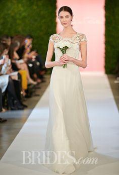Oscar De La Renta Wedding Dresses Spring 2015 Bridal Runway Shows Brides.com | Wedding Dresses Style | Brides.com