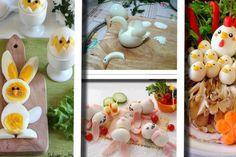 Antipasti per la Pasqua: 20 idee strepitose da creare in tavola con le uova sode. Creative Food Art, Antipasto, I Love Food, Finger Foods, Plastic Cutting Board, Tapas, Appetizers, Food And Drink, Eggs