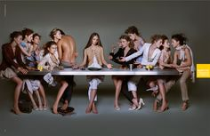 The Last Supper Parodies: Image Gallery (Sorted by Score) | Know Your Meme