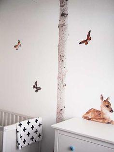 Kek-amsterdam-hertje-bambi-vlinder-stickers-kinderkamer