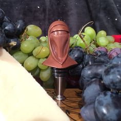 Star Wars Wine Stoppers and Lightsaber Cheese Knives Take the Cake -  #cheese #starwars #wine