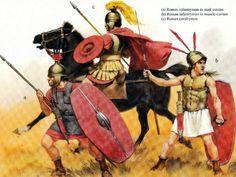 Angus McBride - Soldados romanos de la época republicana