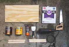diy - paint - stick - countertop - http://communiday.com/4/restaurando-lo-viejo/