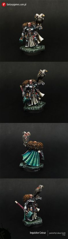 Space Marines : Grey Knights - Exhibition of miniatures painted by other artists around the world