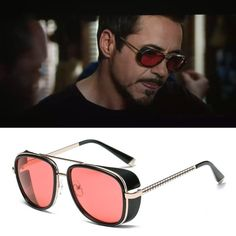 Extra Off Coupon So Cheap Samjune Iron Man 3 Matsuda Tony Stark Sunglasses  Men Rossi Coating Retro Vintage 1a5335472371e