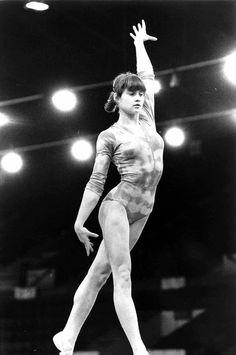 Nadia Comaneci in 1976