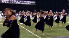 dci color guard drum corps phantom regiment phantomettes ...""