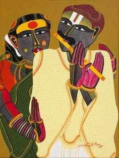 Sanchit Art | Thota Vaikuntam Paintings | Art | Gallery